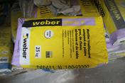 Mortier plâtre chaux grain fin WEBER MPC F sac de 25kg blanc teinte 000 - Sèche serviettes DOUCENSE 3CS 500W+1000W haut.98,5cm larg.55,5 cm prof.12,5cm blanc - Gedimat.fr