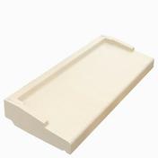 Appui de fenêtre nez arrondi long.1,50m larg.35cm ép.6cm coloris pierre - Eléments pré-fabriqués - Matériaux & Construction - GEDIMAT