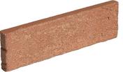 Plaquette de parement en terre cuite long.21,5cm haut.6,5cm ép.2,5cm ligne structurée coloris Pin - Pierre naturelle DE BAVIERE - Gedimat.fr