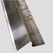 Bande de rive zinc/plomb plissé ép.0,65mm long.2m larg.20cm coloris naturel - Solins - Abergements - Couverture & Bardage - GEDIMAT