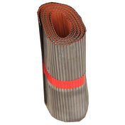 Plomb plissé ép.0,5mm long.5m larg.25cm coloris rouge - Solin joint mastic TERRASSE long.2m en Alu zinc - Gedimat.fr