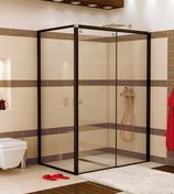 Douches parois de douche et acc s d 39 angles gedimat for Porte coulissante gedimat