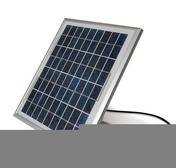 Kit solaire MOOVO KSMKM pour motorisation de portails - Embase à visser pour collier de câblage coloris noir en sachet de 20 pièces - Gedimat.fr