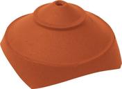 Rencontre porte poinçon 4 ouvertures rondes coloris rouge nuancé - Tuile COTE DE NUITS PV coloris vieilli bourgogne - Gedimat.fr