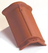 Arêtier grand modèle à emboîtement coloris rouge ancien - Volet battant PVC ép.24mm blanc 1 vantail gauche haut.2,05m larg.90cm - Gedimat.fr