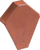 Fronton pour faîtière angulaire à emboîtement coloris rouge - Volet battant PVC ép.24mm blanc 2 vantaux haut.1,05m larg.90cm - Gedimat.fr
