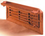 Rive individuelle droite à emboîtement ALPHA 10, RHONA 10, STANDARD 9, JURA 10 coloris rouge nuancé - Poutre en béton précontrainte LBI larg.20cm haut.35cm long.4,60m - Gedimat.fr