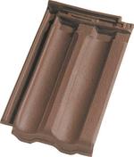 Tuile STANDARD 14 coloris vieilli masse - Bloc béton creux B40 NF ép.20cm haut.20cm long.50cm - Gedimat.fr