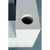 Bloc de béton cellulaire d'angle Long.0,6 x Haut.0,25 m Ep.20 cm - Poutrelle treillis béton armé RAID ST long.3,20m - Gedimat.fr