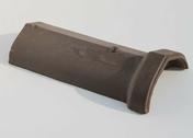 Arêtier à emboîtement coloris vieilli masse - Bouchon laiton brut femelle à visser réf.300 diam.12x17mm en sachet de 2 pièces - Gedimat.fr