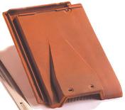 Tuile de ventilation HP10 HUGUENOT avec grille coloris ardoisé - Contreplaqué tout Okoumé OKOUPLAK ép.22mm larg.1,53m long.3,10m - Gedimat.fr