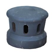 Lanterne petit modèle diam.100mm coloris ardoisé - Caniveau en pierre reconstituée INSTONE siphon dim.30x30cm ép.5cm graphite - Gedimat.fr