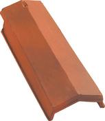 Arêtier à emboîtement VALOISE coloris flammé rustique - Lambris sous face PVC extérieur ép.10 mm larg.250 mm utile (264,5 hors tout) long.4 m Blanc - Gedimat.fr