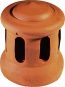 Lanterne grand modèle diam.120mm coloris rouge - Demi-tuile PV13, H14, LOSANGEE coloris rouge - Gedimat.fr