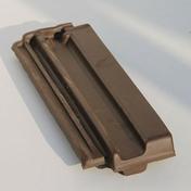 Demi-tuile PV13, H14, LOSANGEE coloris vieilli masse - Poutrelle en béton X92 haut.9,2cm larg.8,5cm long.4,40m - Gedimat.fr