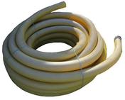 Drain agricole enrobé diam.100mm couronne long.50m - Coude à segment émaillé NM 90° diam.130m - Gedimat.fr