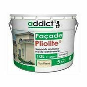 Peinture façade pliolite pot de 10L ton pierre - Peintures façades - Aménagements extérieurs - GEDIMAT