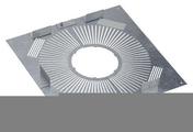 Plaque distance sécurité étanche 80/130 PGI pour Poêle à granulés et pellets. - Tubages rigides - Couverture & Bardage - GEDIMAT