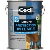 Lasure bois protection intense gel LX525 incolore 5L - Enduit de parement traditionnel PARDECO TYROLIEN sac de 25kg coloris R56 - Gedimat.fr