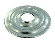 Rosace plate superchromatée diam.25mm sous coque de 10 pièces - Colliers de serrage - Plomberie - GEDIMAT