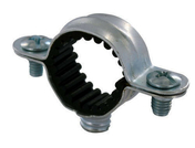 Collier de fixation isophonique simple diam.12mm sous coque de 5 pièces - Plinthe carrelage pour sol en grès cérame CALX larg.8cm long.45,7cm coloris bianco - Gedimat.fr