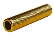Traversée de cloison laiton fileté diam.20x27mm long.100mm sous coque de 1 pièce - Tubes et Raccords d'alimentation eau - Plomberie - GEDIMAT