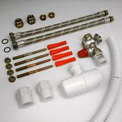 Kit de branchement chauffe-eau sans soudure coque 1 kit - Chauffe-eau et Accessoires - Plomberie - GEDIMAT