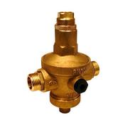 Réducteur de pression laiton mâle mâle avec prise manomètre diam.20x27mm en vrac 1 pièce - Robinetterie du bâtiment - Plomberie - GEDIMAT