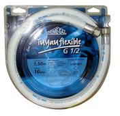 Flexible de raccordement sertigaz longueur 1 mâle - 10 ans coque 1 piece - Alimentation gaz - Plomberie - GEDIMAT