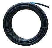 Tuyau polyéthylène bande bleue diam.32mm en couronne de 25m - Plinthe carrelage pour sol WOOD larg.8cm long.100cm coloris blanc - Gedimat.fr