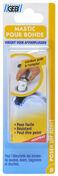 Mastic pour bonde à base de caoutchouc butyl cordon diam.8mm long.43cm blanc - Pâtes et Mastics sanitaires - Plomberie - GEDIMAT