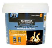 Mastic réfractaire prêt à l'emploi pour appareil de chauffage et foyer de cheminée pot de 600g noir - Accessoires de chauffage - Chauffage & Traitement de l'air - GEDIMAT