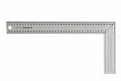 Equerre de menuisier en acier inoxydable long.40cm larg.30cm - Serre joint fixe sertout serrage 800mm - Gedimat.fr