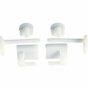 Jeu de 2 fixations plastique pour abattant WC en plastique - Bloc béton plein allégé B120 NF ép.20cm haut.20cm long.50cm - Gedimat.fr