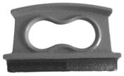 Fer à marche fonte - Griffe de ferrailleur - 6x8mm - Gedimat.fr