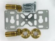 Robinet purgeur laiton brut petit modèle diam.8x13mm sous coque 1 pièce - Radiateurs eau chaude - Chauffage & Traitement de l'air - GEDIMAT