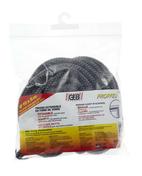 Tresse tricotée extensible en fibre de verre pour étanchéité thermique diam.10mm long.5m teintée noire - Chaudières - Chauffage & Traitement de l'air - GEDIMAT