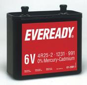 Pile saline 825 6 volts EVEREADY type 4R25-2 vendu à l'unité - Piles - Torches - Electricité & Eclairage - GEDIMAT