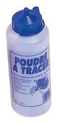 Poudre à tracer biberon 1000g bleue - Outillage polyvalent - Outillage - GEDIMAT