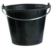 Seau de maçon caoutchouc Mondelin Prochok 12 litres anse diam.6,8mm - Bombe traceur de chantier 500 ml fluo rose - Gedimat.fr