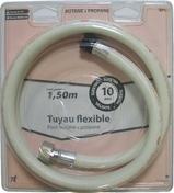 Flexible de raccordement pour butane propane longueur 1m mâle durée vie 10 ans coque 1 piece - Alimentation gaz - Plomberie - GEDIMAT