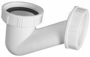 Siphon de baignoire en ''V'' faible encombrement sortie diam.40mm à visser - Vidages - Salle de Bains & Sanitaire - GEDIMAT