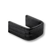 Bague simple en acier noir lot de 10 pièces - Grilles de défense - Quincaillerie - GEDIMAT
