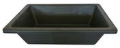Auge de maçon en matière caoutchoutée PROCHOK 12L noir - Pieds x4 pour receveur Cricabac haut.140mm - Gedimat.fr
