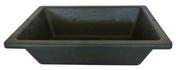 Auge de maçon en matière caoutchoutée PROCHOK 25L noir - Plinthe SALOON en grès cérame émaillé larg.10cm long.80cm coloris 1 blanc - Gedimat.fr