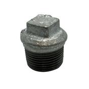 Bouchon acier galvanisé mâle diam.12x17mm avec lien 1 pièce - Mamelon laiton chromé réduit 245 mâle diam.15x21mm / mâle diam.12x17mm sous coque 1 pièce - Gedimat.fr