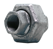 Raccord union droit acier galvanisé double femelle égal FG340 diam.33x42mm avec lien 1 pièce - Raccord union laiton brut bicône à visser mâle diam.20x27mm pour tube cuivre diam.14mm sous coque 1 pièce - Gedimat.fr