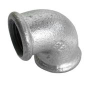Coude acier galvanisé double femelle égal petit rayon FG90 diam.12x17mm avec lien 1 pièce - Mesure boitier ABS chromé antichoc ruban larg.25mm long.5m - Gedimat.fr