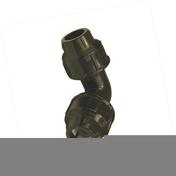 Coude plastique égal pour tuyau polyéthylène diam.25mm en vrac 1 pièce - Raccord fer-cuivre droit laiton brut mâle diam.12x17mm à souder diam.16mm 1 pièce - Gedimat.fr