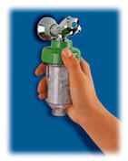 Filtre anticalcaire pour machine à laver - Plaquette d'angle MUROK CLASSIC droite ép.1,5cm long.30cm larg.10cm coloris blanc cassé - Gedimat.fr